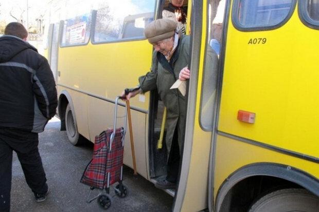пенсионерка, проезд