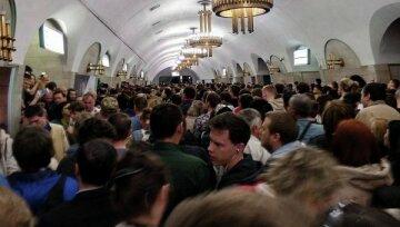 """Київське метро в три рази """"обганяє"""" європейське по перевантаженості: """"На одну станцію майже..."""""""