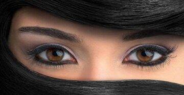 глаза, макияж глаз, зрение