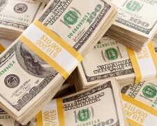 Stacks of Ten Thousand Dollars Cash
