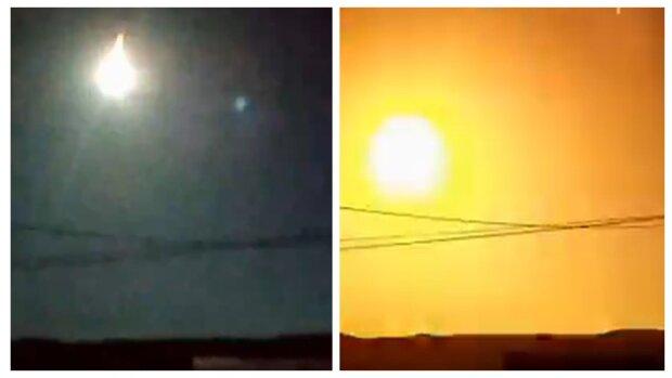 Оглушающий грохот и вспышка света: ЧП в небе напугало полстраны, появились кадры