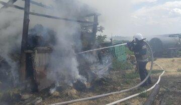 Масштабный пожар вспыхнул под Харьковом, срочно съехались спасатели: фото ЧП