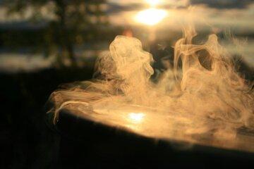 пар, дым