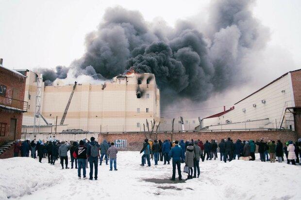 Кемерово-пожар