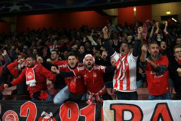 Arsenal FC v Olympiacos FC — UEFA Champions League