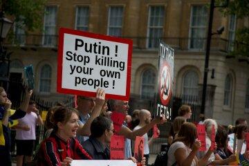 россия, протест, сенцов, путин