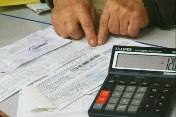 коммуналка, платежка, долг