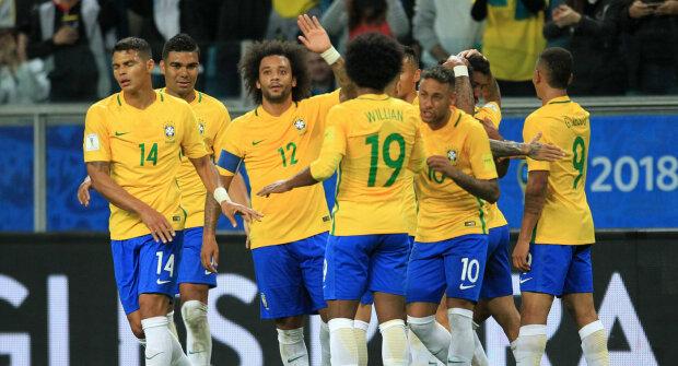 сборная Бразилии, футболисты Бразилии, футболисты, Бразилия