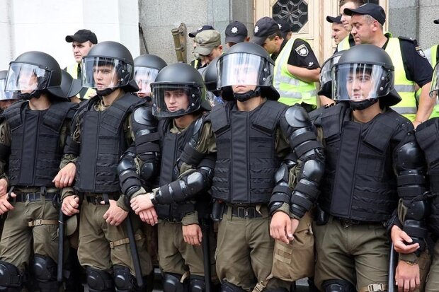 полиция у рады