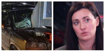"""Ведуча 1+1 Вітвіцька потрапила в аварію, кадри: """"авто влетіло в самоскид"""""""