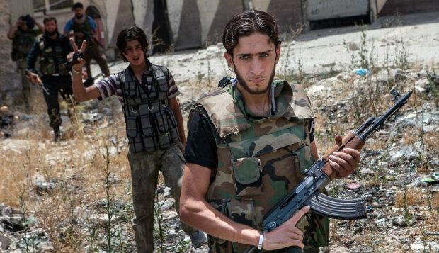 Свободная сирийская армия, поддерживается США