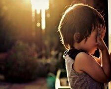 ребенок обида ссора плачет