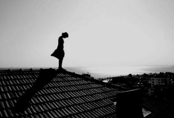 суицид, ребенок, крыша,