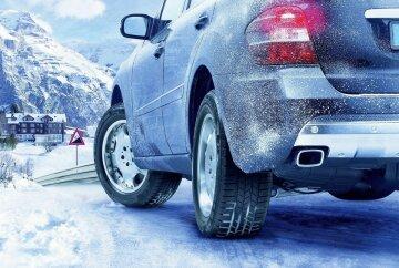 автомобиль, зима, зимняя резина
