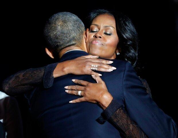 Обама, жена Обамы