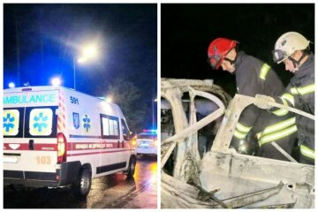 Украинец сгорел заживо в пылающем авто, вытащить его не удалось: фото и что известно о трагедии