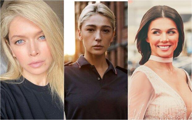 """Брежнєва, Ивлеєва і Седокова розбурхали яскравими волоссям: """"від отруйно-зеленого до червоного"""", топ фото"""
