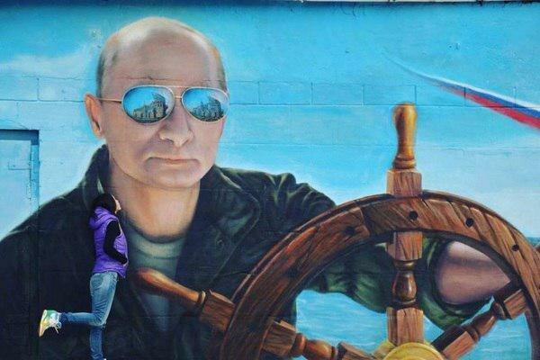 Скандал в Ялті: комунальники розправилися з Путіним, фото говорять самі за себе