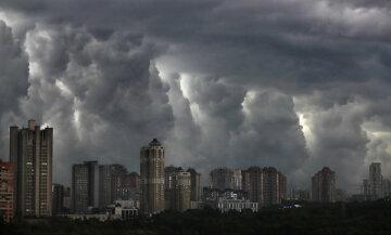 Москва ливень