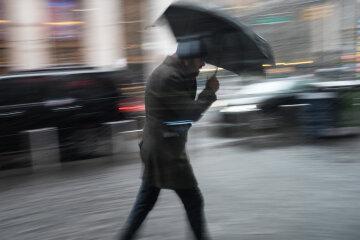 Снег, зима, ветер, погода, шторм, ураган, Getty Images