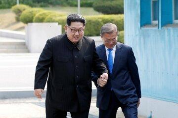Ким Чен Ын и Мун