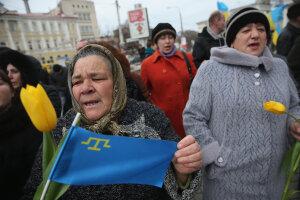 Окупація Криму, прапор