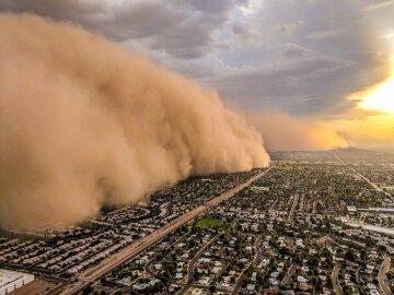 пылевая буря индия