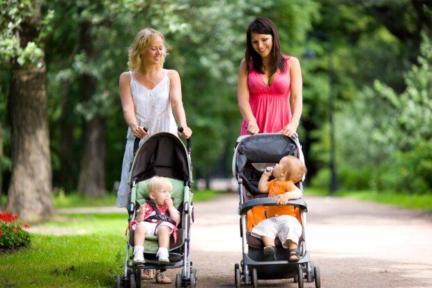 коляска дети