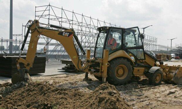 стройка строительство бульдозер