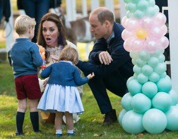кейт миддлтон, принц уильям, дети