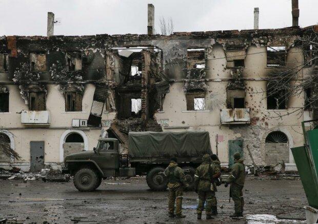Как сейчас выглядит разрушенное путинскими головорезами Дебальцево: пугающие кадры