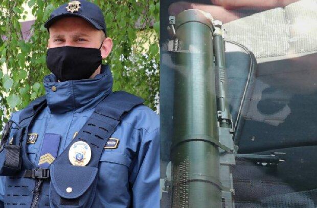 В центре Киева заметили мужчину с гранатометом: срочно съехались силовики, кадры