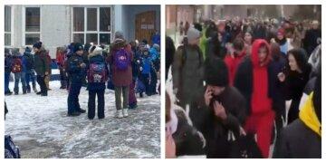 ЧП в Харькове: заминировали сразу несколько школ, детей срочно эвакуировали, кадры