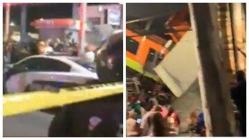 Мост рухнул вместе с пассажирскими вагонами, трагедия попала на видео: число жертв растет