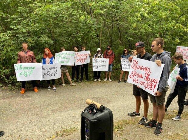 Активисты требуют от министра Ткаченко объяснений по поводу дома в заповедной зоне — СМИ