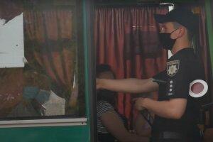 автобус маршрутка транспорт карантин пасажири поліція