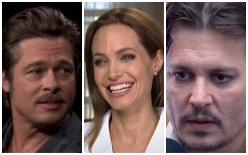 """Как выглядели Анджелина Джоли, Джонни Депп, Питт и другие звезды в своих первых ролях: """"Невероятно!"""""""