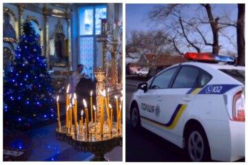 Неизвестные атаковали храм на Одесчине: полицию подняли по тревоге
