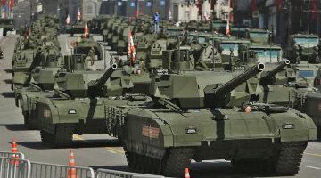 танки Россия агрессия Москва Красная площадь парад