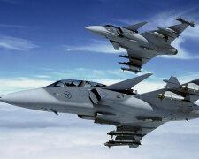 истребители JAS-39 Gripen