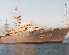 разведывательный корабль ВМФ России «Виктор Леонов»
