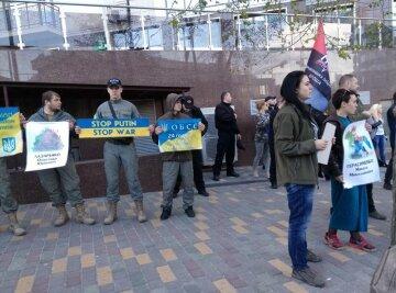 2 травня в Одесі: під Генконсульством РФ сталася бійка (фото)