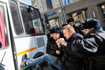 Сторонники захвата Украины поддержали Навального (видео)