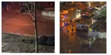 Возле харьковского супермаркета открыли стрельбу, есть жертва: новые детали ЧП