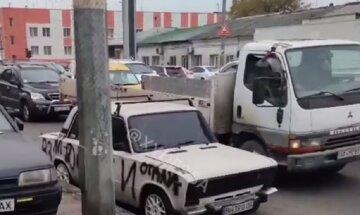 В Одессе автохамы разозлили местных жителей: месть попала на камеру