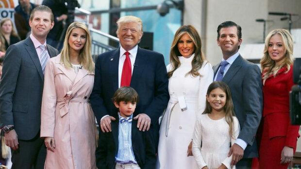 трамп семья