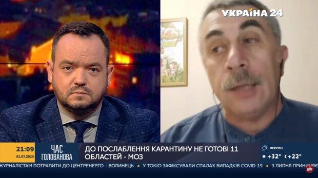 """Доктор Комаровский разнес Кличко за усиление карантина в Киеве: """"Почему вдруг это стало..."""""""