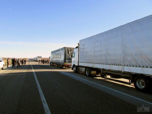 трасса фуры грузовики