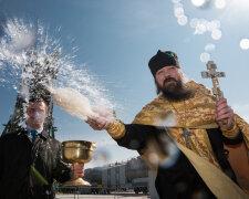 священник, крест, поп