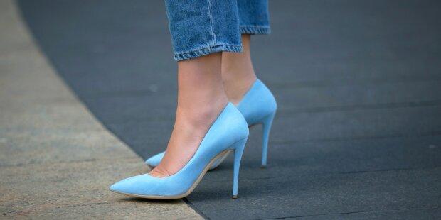 ноги туфли модель девушка